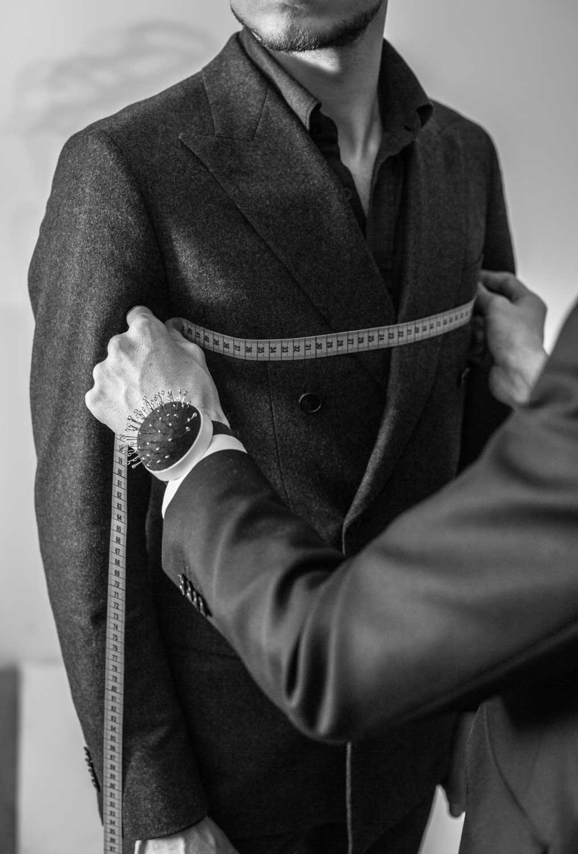 monokel berlin riga bespoke double breasted suit