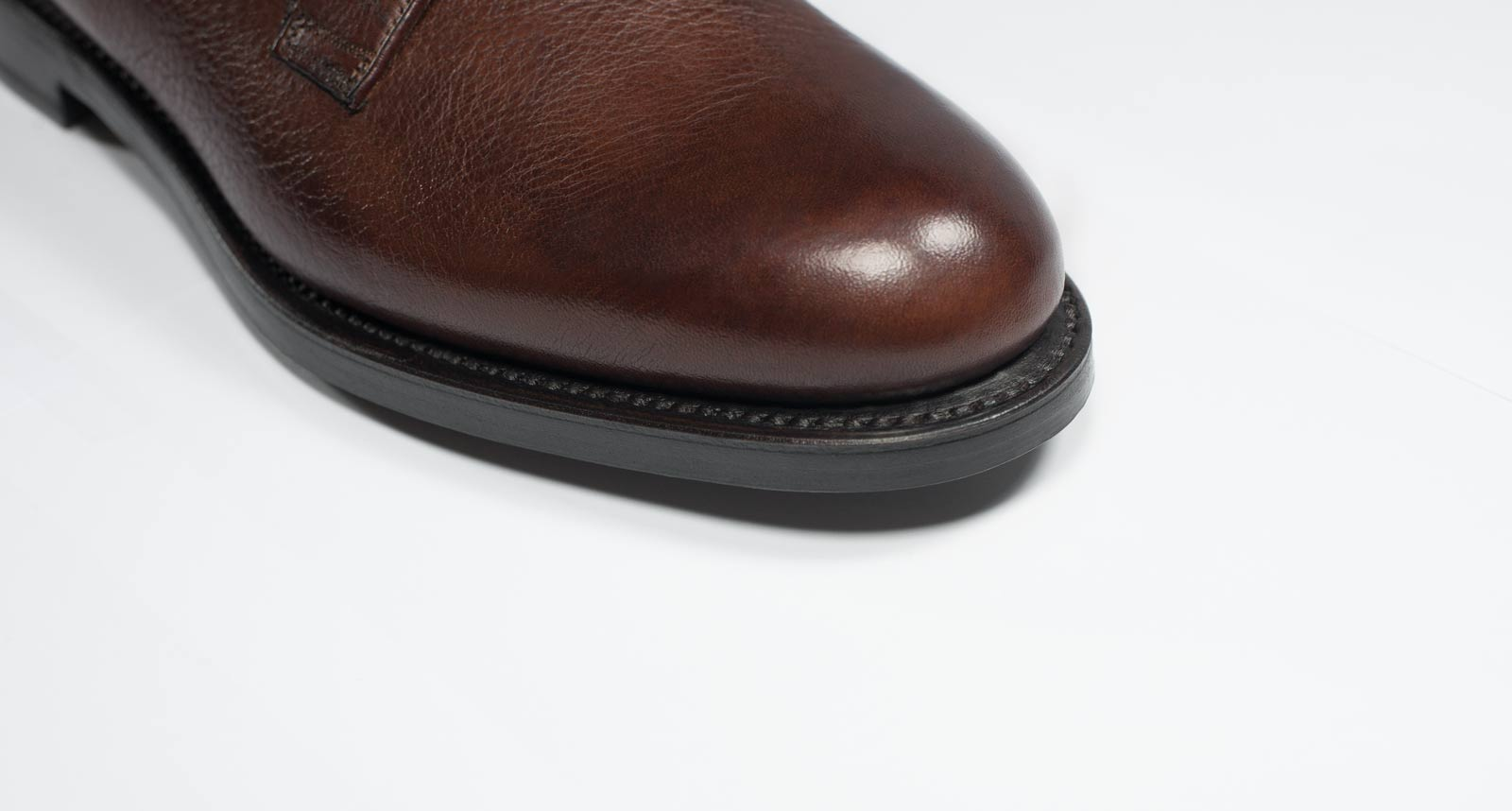 Goodyear welted seams - Men's shoe