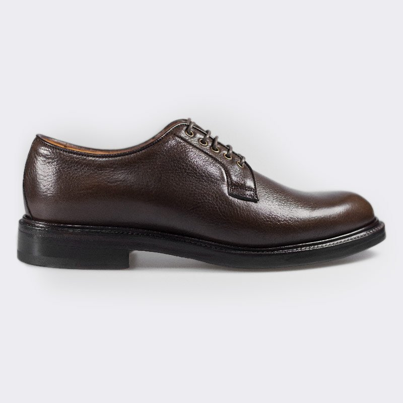 monokel berlin bordeaux grain leather shoe