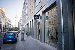Monokel Berlin Store Berlin außenansicht