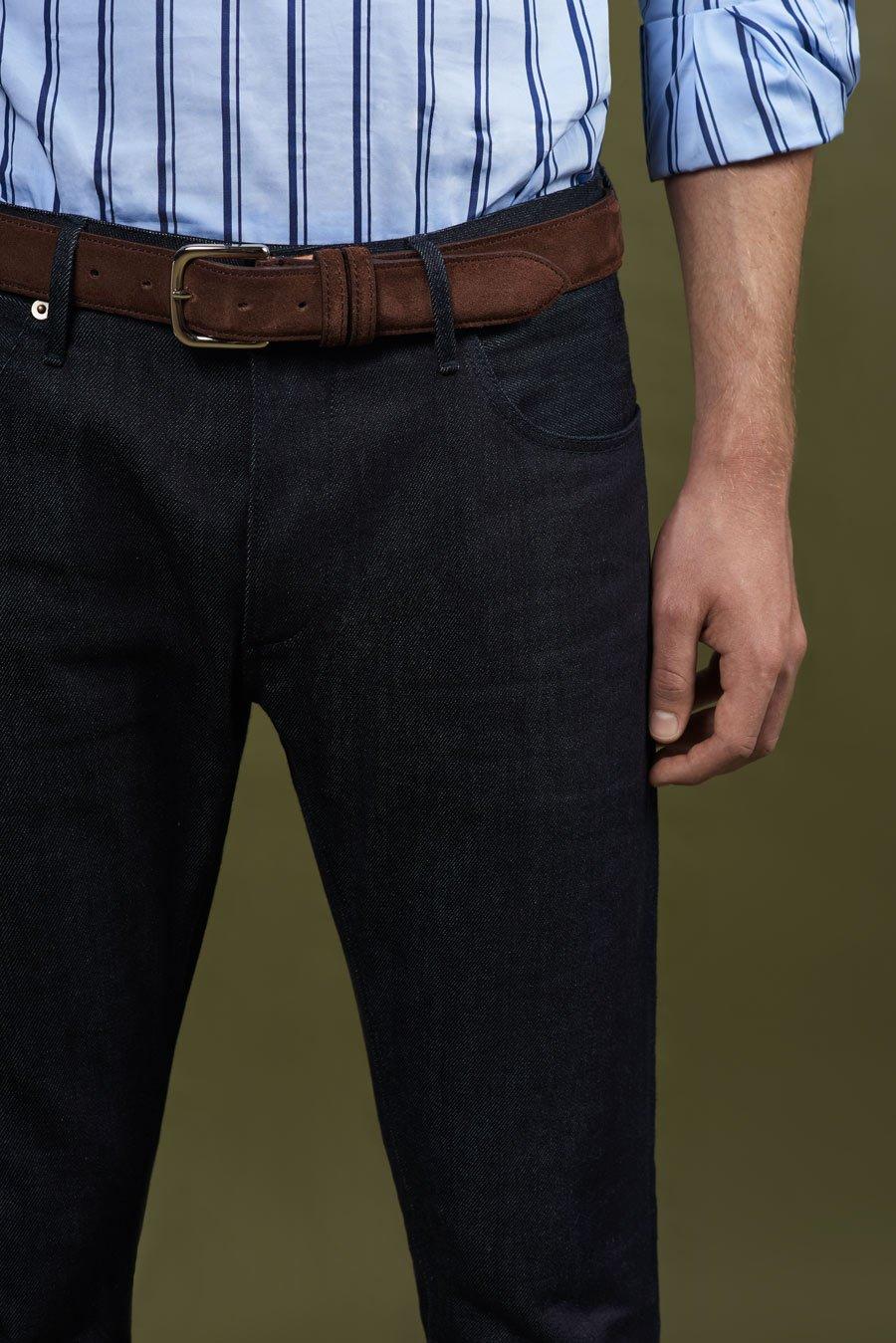 Spring Summer 2019 Lookbook Denim Jeans Stripe Shirt 01
