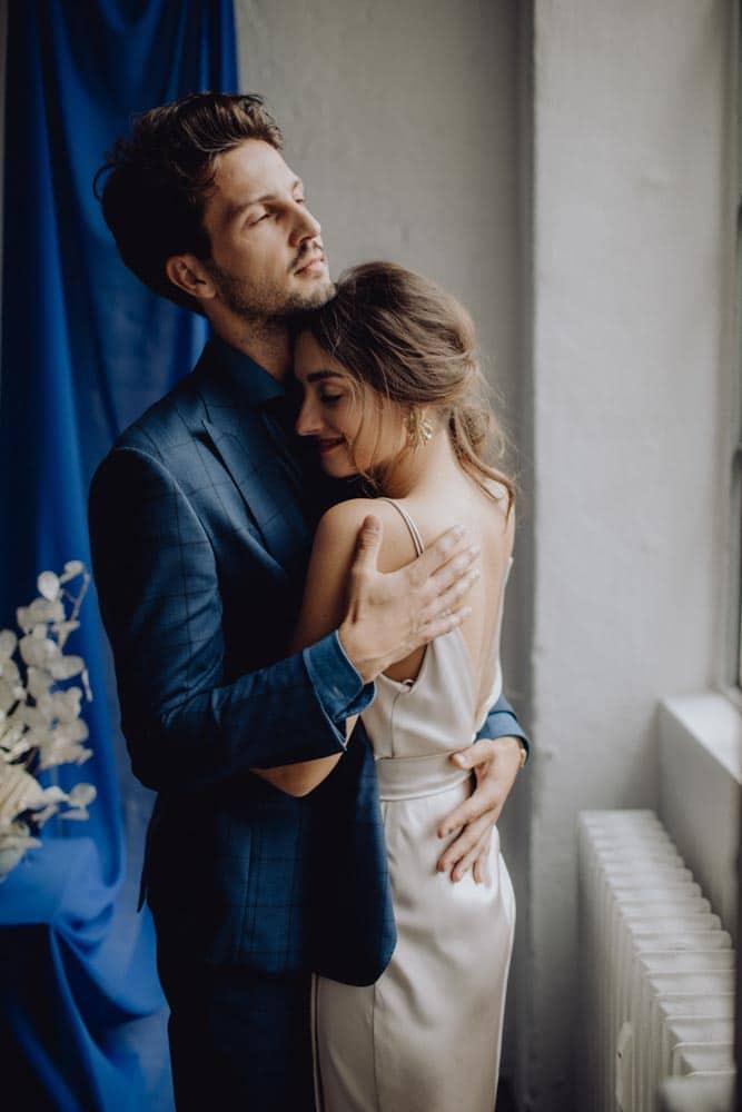 Hochzeitsanzug Paar