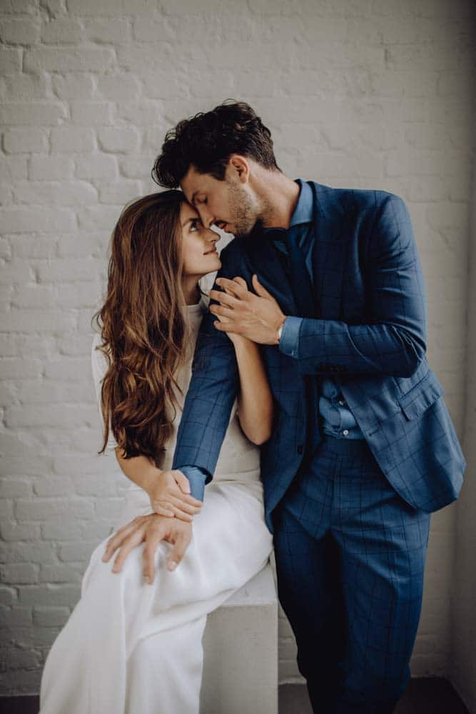 Hochzeitsanzug Pärchen