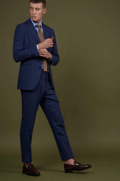 Spring Summer 2019 Lookbook-Business Anzug blau-01