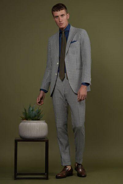 Spring Summer 2019 Lookbook Check Anzug